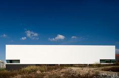 Modern minimalist architecture Music school of Lisbon