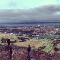 Leith from Arthur's Seat 1/13