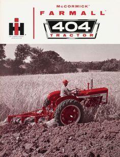 Tractor Mower, Red Tractor, John Deere Equipment, Old Farm Equipment, International Tractors, International Harvester, Vintage Tractors, Vintage Farm, Agriculture Tractor