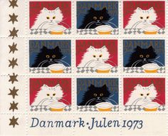Danmark 1973 デンマーク クリスマス切手 1973年 : Postimerkki -切手蒐集の愉しみ- 世界の可愛い切手ブログ