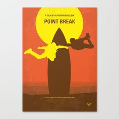 Buy No455 My Point Break minimal movie poster by Chungkong as a high quality Canvas Print. Worldwide shipping available at Society6.com. Just one of millions of products available.