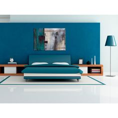 Cuadros Abstractos - Cuadro Con turquesa  #cuadro #cuadros #fotos sobre lienzo #fotos #sobre #lienzo