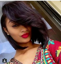 Bob Lace Wigs African American Human Hair Lace Front Wigs for Black Women! Weave Hairstyles, Straight Hairstyles, Cool Hairstyles, Love Hair, Gorgeous Hair, Short Hair Styles, Natural Hair Styles, Bob Styles, Twisted Hair