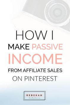Check out these affiliate marketing tips for beginners who want to make money online. Learn about programs you can join and how you can make passive income by pinning your affiliate links on Pinterest. If you're a blogger or online business owner interested in earning money with affiliate marketing, click through for advice and ideas! How to build your OWN business selling OTHER peoples products!