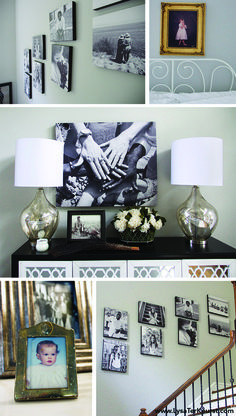 """Yes! I want to do this in my home! """"I wanted my walls to talk and tell our story."""" - Lysa TerKeurst // If These Walls Could Talk"""