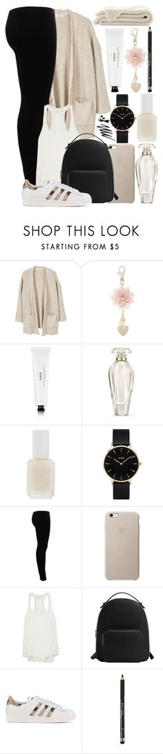 """#38"" by oneandonlyfashion ❤ liked on Polyvore featuring MANGO, Monsoon, Byredo, Victoria's Secret, Essie, CLUSE, Gestuz, rag & bone, adidas Originals and Prescriptives"