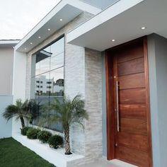 most popular new exterior house design ideas 8 Modern Exterior House Designs, Design Exterior, Dream House Exterior, Modern House Design, Exterior Signage, Exterior Stairs, Craftsman Exterior, Exterior Cladding, Modern Houses