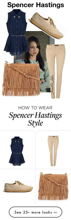 """Spencer Hastings Pretty Little Liars."" by tumblrslives on Polyvore"