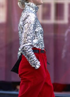Cool ways to wear sequins