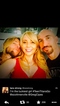 Greg Cipes And Tara Strong 1000+ ideas about Greg...