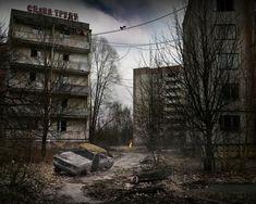 Pripyat - Ukraine - Abandoned Street