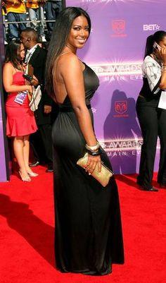 Kenya Moore Photos - Actress Kenya Moore arrives at the 2007 BET Awards held at the Shrine Auditorium on June 2007 in Los Angeles, California.