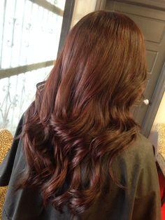 Red brown hair Hair Color Auburn, Auburn Hair, Dying My Hair, Reddish Brown Hair, Red Color, Cool Hairstyles, Long Hair Styles, Nice, Photography
