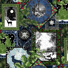 Jason Yenter, In the Beginnings, Winter Solstice... I am loving this fabric!!