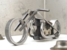 Bike 135 scrap metal art sculpture | Year of the Chopper #33… | Flickr