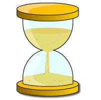 This is such a great website - over the years, I've used this egg timer to help my youngest know how much time left...to wait for something...to do a certain task...etc.  For those who can't tell time and know what a certain amount of time is, this provides a great visual!
