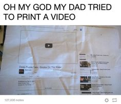 Oh, Arthur Weasley. You can't just print a video! My Tumblr, Tumblr Posts, Tumblr Funny, Funny Memes, Jokes, Funny Videos, Harry Potter Universe, Whatsapp Videos, Lol
