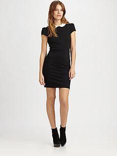 Alice + Olivia Bradley Fitted Dress