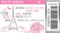 Paris Party, Paris Theme, End Of Year Activities, Ideas Para Fiestas, Quinceanera, Invitations, Birthday, Cards, Birthday Party Foods