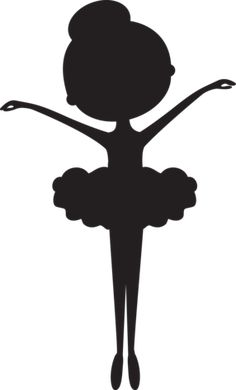 3 adorable ballerina silhouette poses to choose from. Perfect gift for your little ballerina! Great gift idea for dance instructors and teachers. Ballerina Silhouette, Ballerina Birthday, Little Ballerina, Ballerina Nursery, Diy And Crafts, Crafts For Kids, Paper Crafts, Diy Art, Wall Art