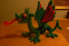 Baby Dragon - pipe cleaners