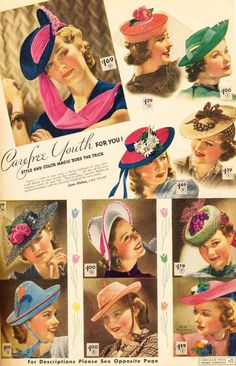 what-i-found: Chicago Mail Order Catalog - Spring and Summer 1939 - Part 3