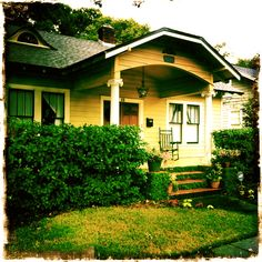 Our cute little bungalow in Orlando, FL