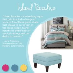 Pantone Island Paradise Furniture And Home Decor