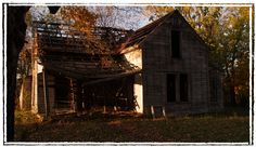 Old House, Southside, Clarksville, Tennessee, Fall