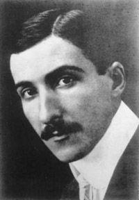 Stefan Zweig (1881-1942).