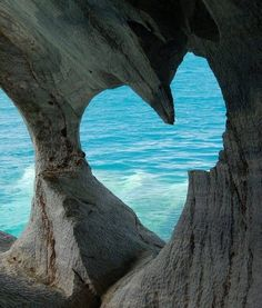 Heart shaped cave