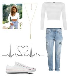 Untitled #43 by baby79girl on Polyvore featuring polyvore, fashion, style, WearAll, H&M, Converse and Michael Kors