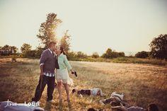 zombie wedding photo shoot