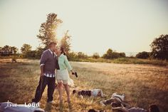 Kimberly   Daniel Remind You To Always Bring A Gun To A Picnic (Zombie apocalypse engagement photos)