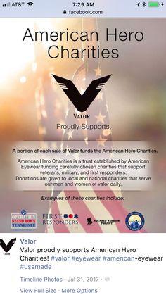 American Eyewear, Charity