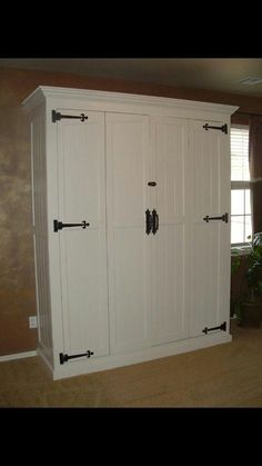 Would love this Murphy bed for my room!