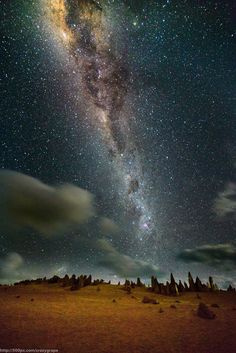 stars above the pinnacles by steven goh on 500px
