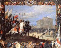 David Antonio Manocada repulses Caberra - David Teniers the Younger
