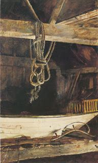 Andrew Wyeth's The Rope (1957)