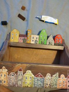 Декорируем ключницу-полочку «Голландский квартал» - Ярмарка Мастеров - ручная работа, handmade