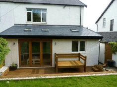 Simple Kitchen Extension this extension project cost £55,000 for design, materials