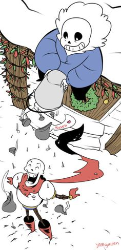 Sans and Papyrus - Undertale
