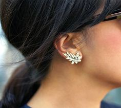 Swarovski Ear Cuff Pair by Talk2TheHand on Etsy They will be mine, oh yes, they will be mine