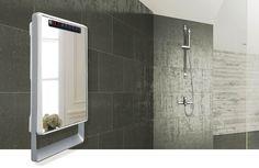 Aurora Touch Termobagno Visio con specchio  Aurora Touch Termobagno Visio, il termoventilatore digitale da bagno con superficie a specchio. http://eco365.it/termoventilatori-da-bagno-serie-aurora/1627-aurora-touch-termobagno-visio-con-specchio.html #termobagno #riscaldamento #casa #auroratouch #design