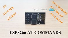 In this tutorial, I'll show you some of the important and frequently used ESP8266 AT Commands or AT Instruction Set. ESP8266 WiFi Module offers complete networking solutions to our DIY (Do-it-yourself) and IoT (Internet of Things) projects. It provides WiFi connectivity to any microcontroller through its full TCP/IP Stack. The ESP8266 WiFi module and …