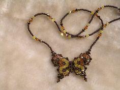 Perles & Peyote - et encore un - Swarovski - Les Artisanes de la Colline