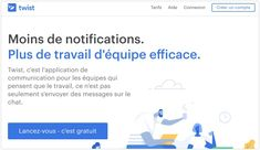 Twist. Une alternative zen aux messageries instantanées