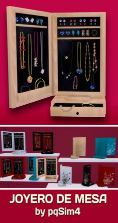Sims 4. Jeweller table. - PqSim4