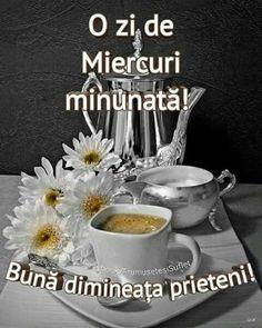 Imagini buni dimineata si o zi frumoasa pentru tine! - BunaDimineataImagini.ro Tableware, Drink, Happy Birthday, Pictures, Fragrance, Recipes, Dinnerware, Beverage, Tablewares