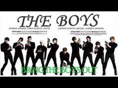 SUPER JUNIOR - THE BOYS (SNSD) [ENG SUB]